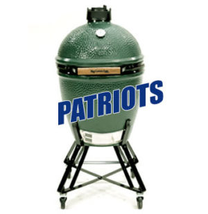 Big Green Egg Patriots Package