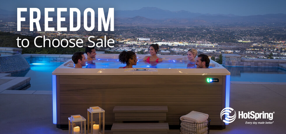 Hot Spring Freedom to Choose Sale