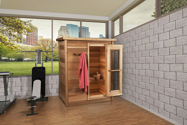 Dundalk Red Cedar Sauna